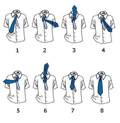 Как завязать галстук в